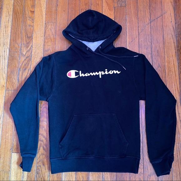 Champion Other - Black champion hoodie